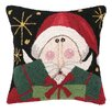 <strong>Peking Handicraft</strong> Friendly Santa Present Hook Pillow
