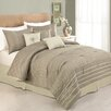 Peking Handicraft Modern Heirloom Germaine 7 Piece Comforter Set