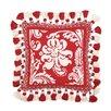 <strong>Peking Handicraft</strong> Damask Needlepoint Pillow