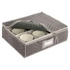 <strong>Richards Homewares</strong> Tabletop Storage Deluxe/Micro Fiber Cup Chest