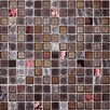 "Onix USA Fuse FU040 1"" x 1"" Glass Texture Mosaic in Red"