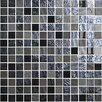 "Onix USA Mystic 1"" x 1"" Glass Gloss and Matte Mosaic in Islande"