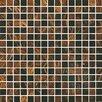 """Onix USA Classy 4/5"""" x 4/5"""" Glass Frosted Mosaic in Zanzibar"""