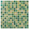 "Onix USA Classy 4/5"" x 4/5"" Glass Frosted Mosaic in Jamaica"
