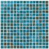 """Onix USA Classy Glass 4/5"""" x 4/5"""" Glass Mosaic in Azul"""