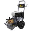 <strong>Powerease 4000 PSI 4 GPM Cold Water Pressure Washer</strong> by BE Pressure