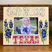 Glory Haus God Bless Texas Picture Frame