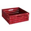 WaldImports Slat Crate Box