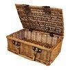 WaldImports Willow Picnic Basket