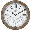 """<strong>15"""" Tile Wall Clock</strong> by River City Clocks"""