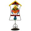 <strong>Bird in Cage Wall Clock</strong> by River City Clocks