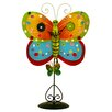 <strong>River City Clocks</strong> Butterfly Wall Clock