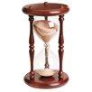River City Clocks 60 Minute Sandglass in Cherry