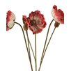Distinctive Designs DIY Flower Artificial French Poppy (Set of 12)