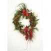 Distinctive Designs Woodland Treasure Pod and Cone Cedar Wreath