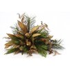 Distinctive Designs Over The Top Ornamented Natural Leaf Floral
