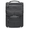 MacCase Premium Leather Laptop Flight Case with Large Pouch