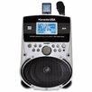 Karaoke USA Portable Karaoke MP3 Lyric Player with Lyric Screen, SD Slot and 100 Songs