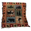 <strong>Bear Lodge Tapestry Cotton Throw</strong> by Manual Woodworkers & Weavers