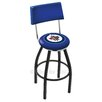 "Holland Bar Stool NHL 30"" Swivel Bar Stool with Cushion"