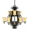 <strong>Hamilton 9 Light Chandelier</strong> by Kalco