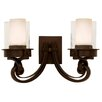 <strong>Newport  2 Light Bath Vanity Light</strong> by Kalco