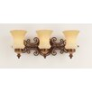 Kalco Hamilton 3 Light Bath Vanity Light