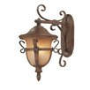 Kalco Tudor 3 Light Outdoor Wall Lantern