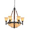 Kalco Rodeo Drive 9 Light Chandelier