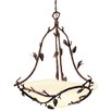 Kalco Ponderosa 6 Light Bowl Inverted Pendant