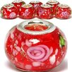 <strong>Rose Glass Bead (Set of 3)</strong> by West Coast Jewelry