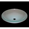 Legion Furniture Iced Vessel Bathroom Sink