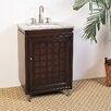 "Legion Furniture Hatherleigh 24"" Chest Vanity Set with Single Sink"