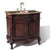 "Legion Furniture 36"" Hampshire Single Sink Chest Vanity Set"