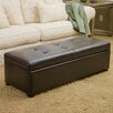 Home Loft Concept Hamptons Leather Storage Ottoman