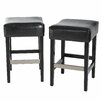 Home Loft Concept Exclusives Brinkley Bar Stool with Cushion (Set of 2)