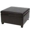 Home Loft Concept Jones Leather Storage Ottoman