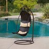 <strong>Home Loft Concept</strong> Moorea Wicker Swinging Lounge Chair