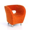 Home Loft Concept Hester Microfiber Modern Club Chair