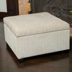 Home Loft Concept Stephon Wheat Tufted Storage Ottoman