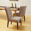<strong>Home Loft Concept</strong> Talib Tufted Leather Dining Chair (Set of 2)