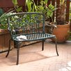 <strong>Tortoli Cast Aluminum Bench</strong> by Home Loft Concept