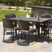 Home Loft Concept Dimke 7pc PE Wicker Outdoor Dining Set