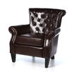 <strong>Home Loft Concept</strong> McClain Leather Club Chair