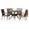 Home Loft Concept Heidi 5 Piece Dining Set