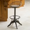 Home Loft Concept Alonso Weathered Wood Barstool