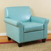 Home Loft Concept Yonkers KD Bonded Leather Club Chair