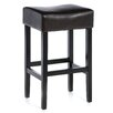 "<strong>George Backless 31"" Leather Bar Stool (Set of 2)</strong> by Home Loft Concept"
