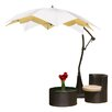 Home Loft Concept 9.8' Waterlily Cantilever Umbrella