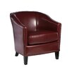 Home Loft Concept Starks Leather Studded Club Chair